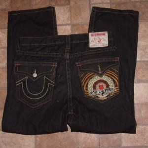 True Religion Billy Embroidered Jeans